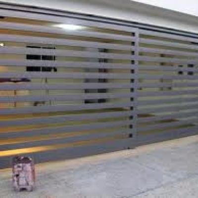 Cambio de Puerta y Motor en Residencia en Tecamachalco.