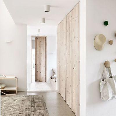 Puertas invisibles de madera