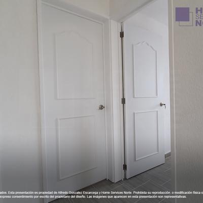 Puertas nuevas para ampliación de casa