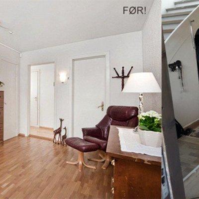 El antes y después de 5 recibidores oscuros