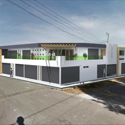 proyecto MICROPLAZA  LOS ANGELES