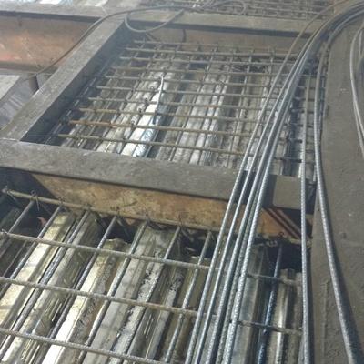Trabajos de mantenimiento de entrepiso del horno 8