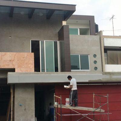 Construcción de casa habitación 3 niveles