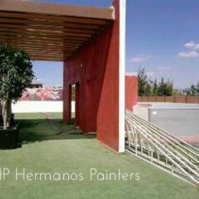 Pintura en remodelación a Presidencia Nicolas Romero