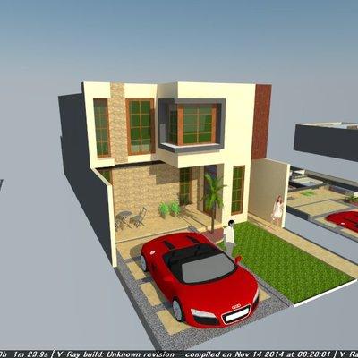 Diseño de casa habitación en Horizontes S.L.P.