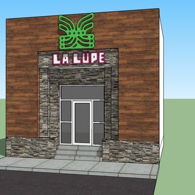 Remodelación de fachada La Lupe Boulevard