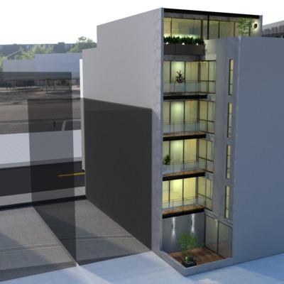 Trabajo de Renderizado para proyecto Rio Nazas (Maqueta Virtual)
