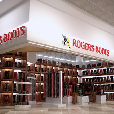 Roger Boots Aeropuerto Internacional Cancún Terminal II