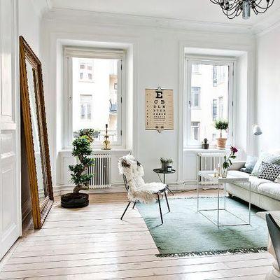 Cómo aumentar la sensación de espacio en los departamentos sin balcón