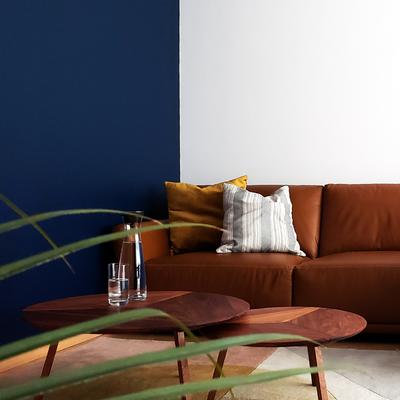 Diseño de interiores de departamento M+A