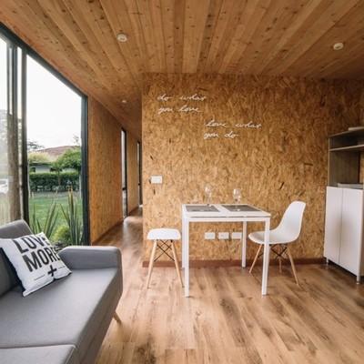 sala casa prefabricada