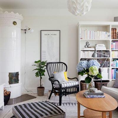 salon con aire campestre