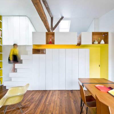 Una vivienda fresca y despejada... en un ático