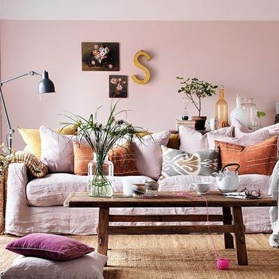 Ideas y fotos de salas de estilo otros estilos para - Ideas para pintar un salon moderno ...
