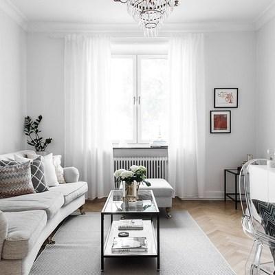 Un departamento decorado mezclando estilos