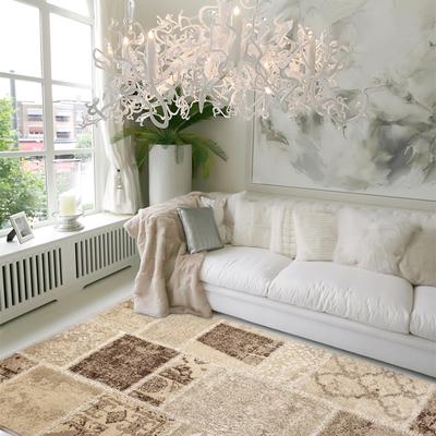 salón romántico tonos beige