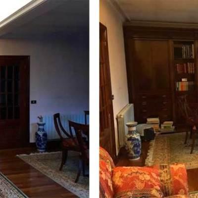 El antes y el después de 6 salas renovadas