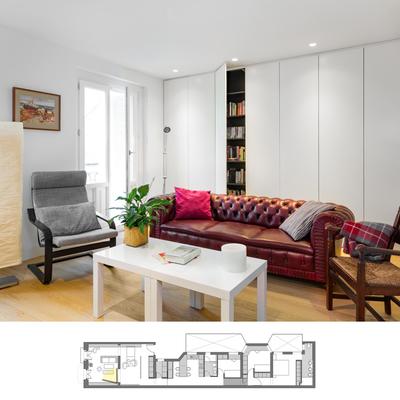 'Reto 28 x 5': el cambio radical de una vivienda alargada y angosta