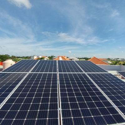 Paneles solares en San Marcos