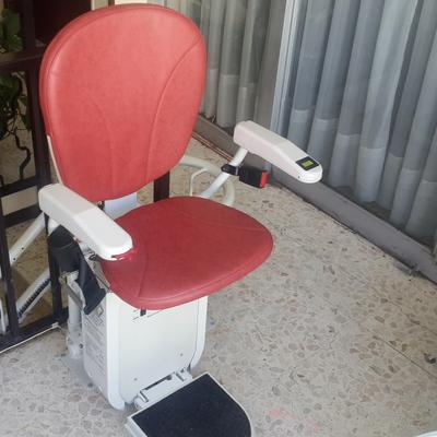 Instalación de silla salvaescalera