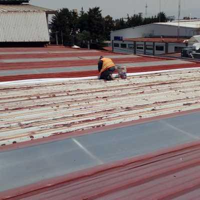 Sistema Impermeabilizante en Cubierta Industrial