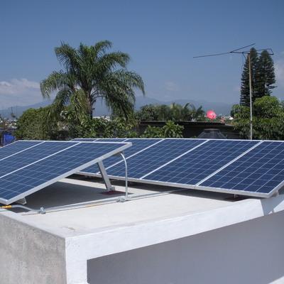 Sistema fotovoltaico de interconexión a la red de CFE