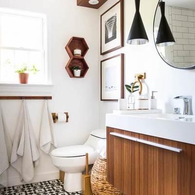 Cómo remodelar el baño sin quitar los azulejos
