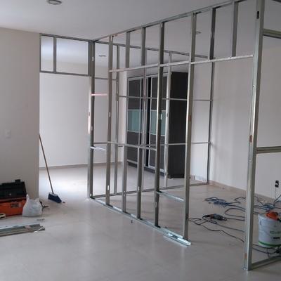 Diseño de oficinas en Tablaroca