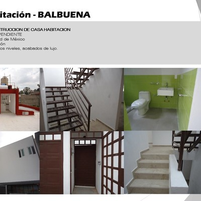 Casa Habitación - BALBUENA