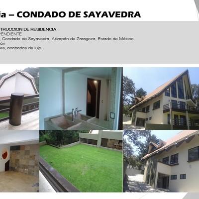 Residencia – CONDADO DE SAYAVEDRA