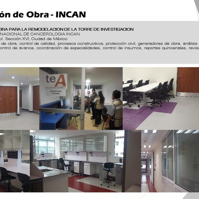 Supervisión de Obra - INCAN