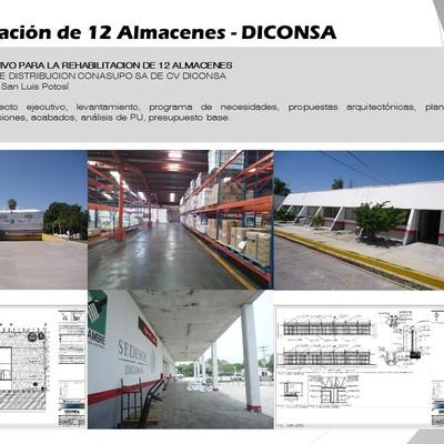 Rehabilitación de 12 Almacenes - DICONSA
