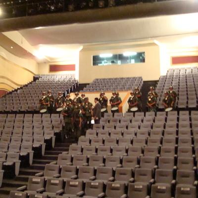 Proyecto y construcción Caja Escénica Teatro Orfeón CD de México