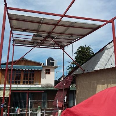 re instalación de un sistema fotovoltaico de 2kw