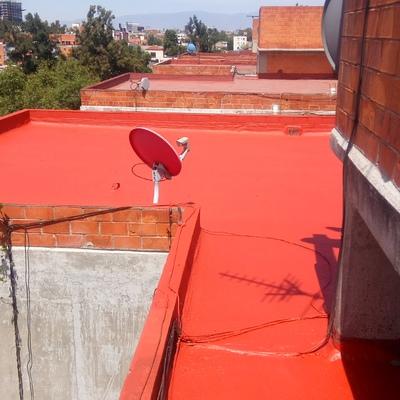 Impermeabilizacion en edificio