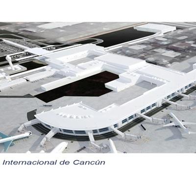 Trabajos bajo subcontrato en Aeropuerto de Cacun en ejecucion actualmente