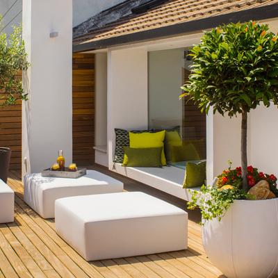 Obra seca en la terraza: remodelación exprés para anticiparte al verano