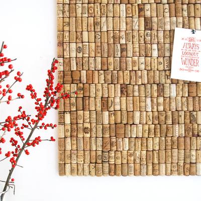 Dale a tu hogar un toque DIY con corchos de vino