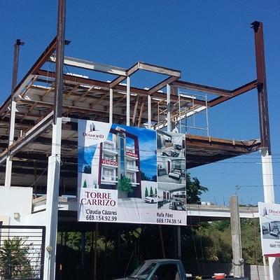 Conjunto departamental Torre Carrizo. Mazatlan, Sinaloa.