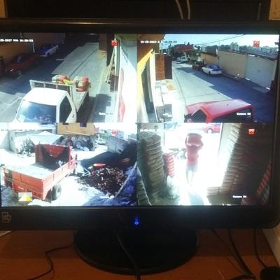instalación CCTV Recidencial HD