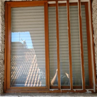 Instalación de ventanas de seguridad.