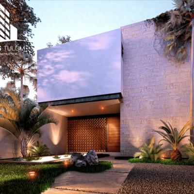 Enjoy the tropical climate in Villa Cálida, Tulum Mexico