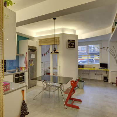 Una vivienda de 45 m2 muy bien aprovechados