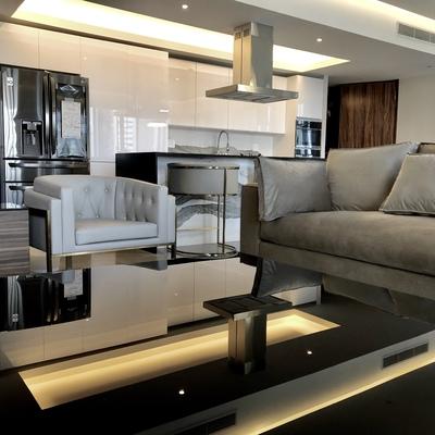 Diseño de Interiores y Decoración de Departamento