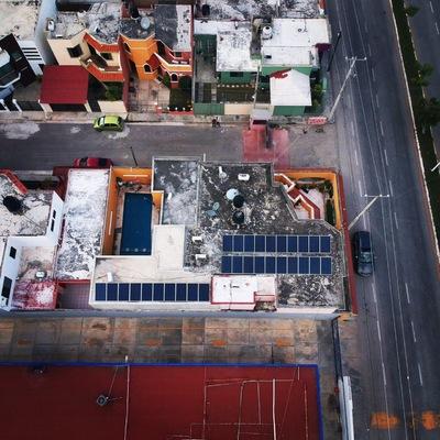 Instalación de 30 Paneles Solares en la Ciudad de Campeche