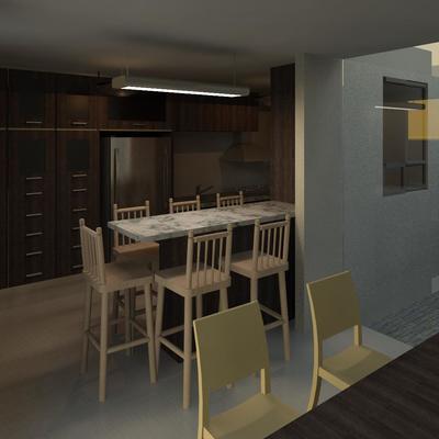 Diseño de Cocina Familia TDL