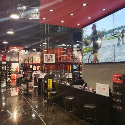 Remodelación de tienda comercial de deportes