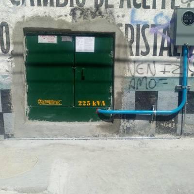 SUBESTACIÓN ELÉCTRICA PARTICULAR PARA COMERCIALIZADORA DE CARNES FINAS LA LAGUNA AZCAPOTZALCO CDMX