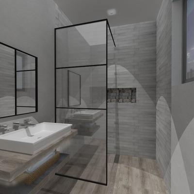 Propuesta de remodelación baño 4m2