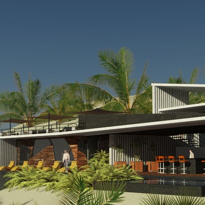 Proyecto casa club (LOS CABOS SAN LUCAS)